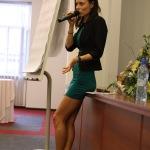 Яна Ипполитова (ШокерМагаз). Лекция на тему Применение электрошокера и вред здоровью. Санкт-Петербург.